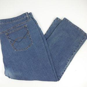 Venezia Womans Denim High Rise Jeans - 26W  Petite